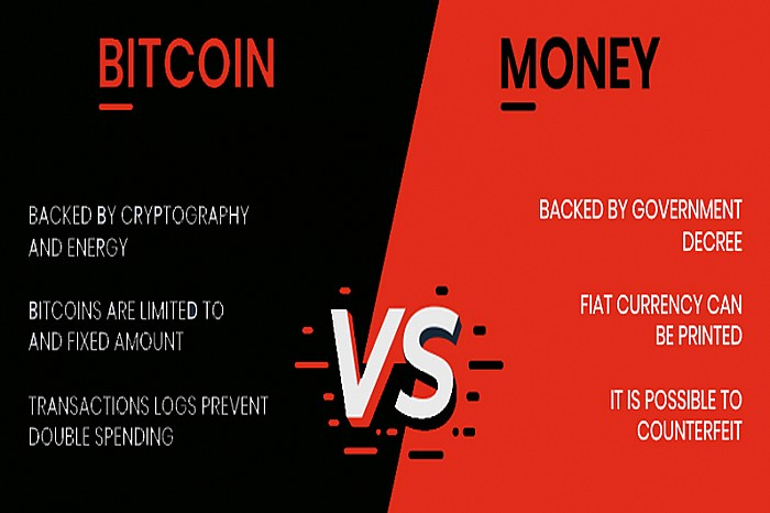 Bitcoin VS Fiat Currencies and Bitcoin VS Blockchain