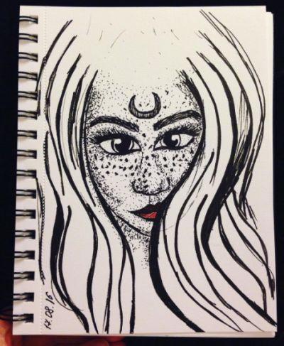 Strange woman).