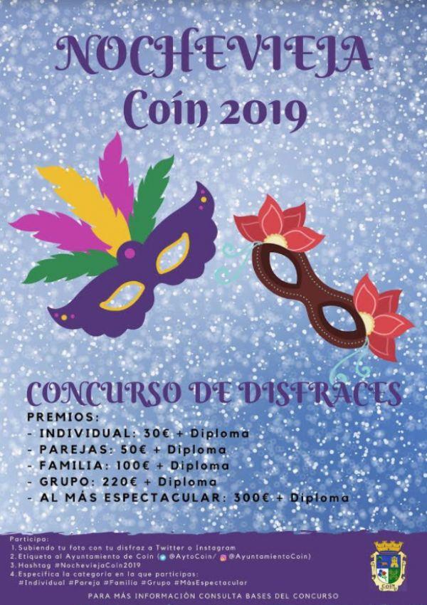 Concurso de Disfraces de la Nochevieja Coín 2019