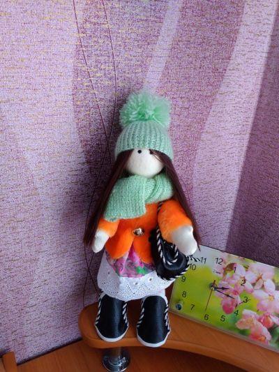 My handmade Doll - Kristi.
