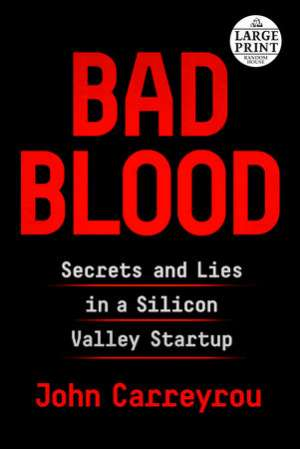 Bad Blood, Nonfiction Book of the year 2018