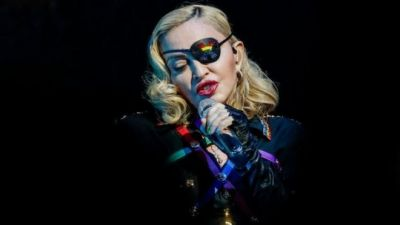 Madonna's Instagram account flagged for spreading misinformation.