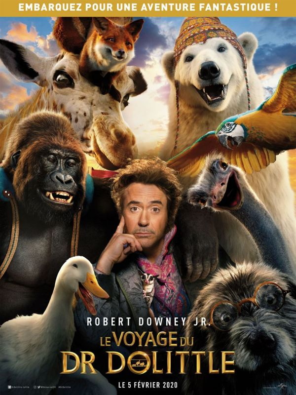[STREAMING VF] Le Voyage Du Dr Dolittle (2020) Film Complet en Streaming VF Entier Français