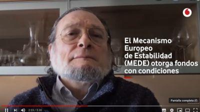 El catedrático de economía Niño Becerra habla de la salida a la crisis del coronavirus