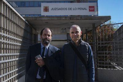 Juicio a uno de los detenidos en las concentraciones anti CoTUFO de Callao