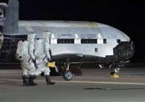 Mysterious space plane lands after record 780 days in orbit