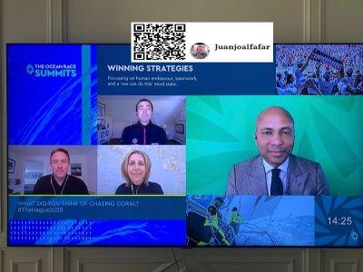 Líderes de referencia se reúnen de forma virtual en The Ocean Race Summits