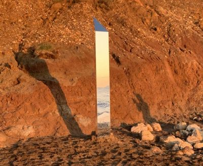 Isle of Wight monolith: 'Magical' structure appears on beach