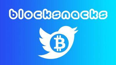 Blocksnacks; Bitcoin-aren inguruko Twitterra