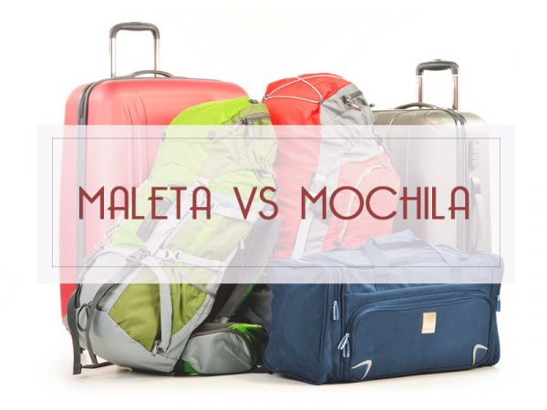 Maleta VS Mochila