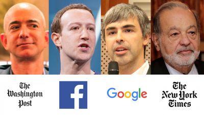 ¿Por qué los más ricos del mundo siguen comprando medios de comunicación?