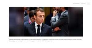 Macron promet de n'avoir aucune faiblesse sur les retraites