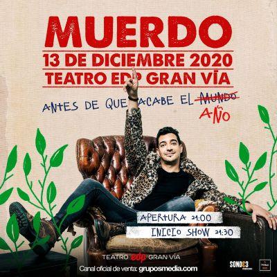 Muerdo en Madrid el 13 de diciembre