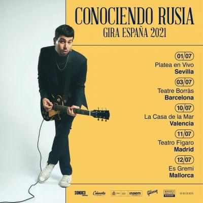 ROCK ARGENTINO CONOCIENDO RUSIA