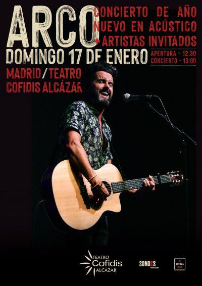 Arco en Madrid el 17 de enero
