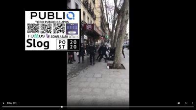 Palos en Atocha con la gente por el virus