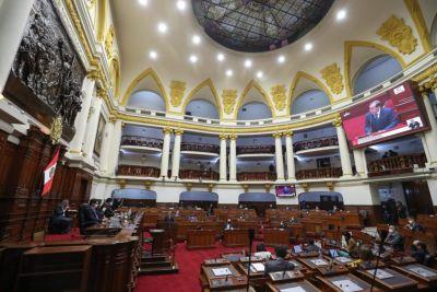 Congreso peruano le otorgó el voto de confianza a nuevo gabinete ministerial