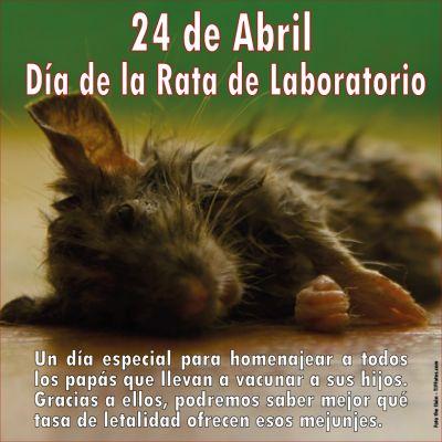 24 de Abril, Día de la Rata de Laboratorio