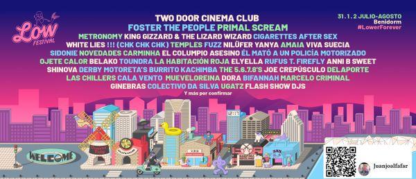 Low Festival 2020 nuevas confirmaciones