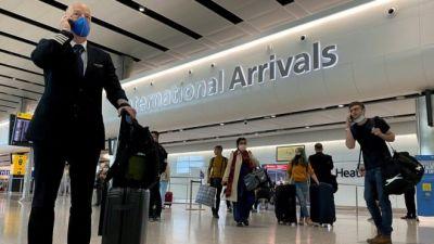 Coronavirus: UK government's quarantine-free list 'absurd'