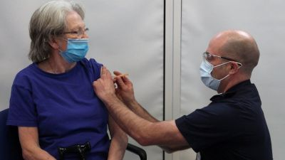 Coronavirus: Vaccine chief 'optimistic' about over-50s May target