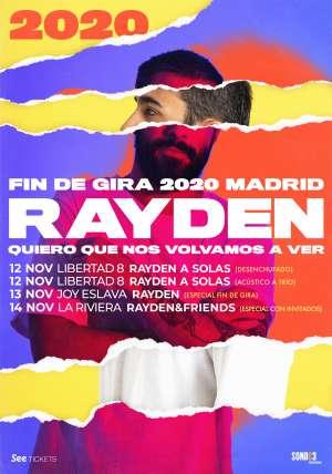 FIN DE GIRA DE RAYDEN 2019