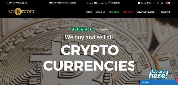 BC Bitcoin, salerosketarako wallet-a
