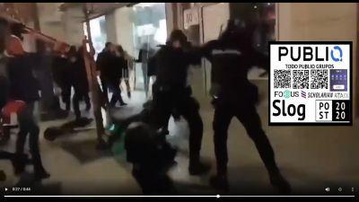 Violencia en España por Pablo Rivadulla Duró, hijo de un rico empresario