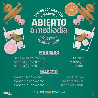 Madrid abierto a mediodía 2021
