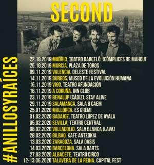 Second gira Anillos y Raíces
