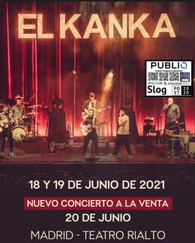 El Kanka en el Teatro Rialto de Madrid