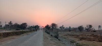 Evening Capture in a village