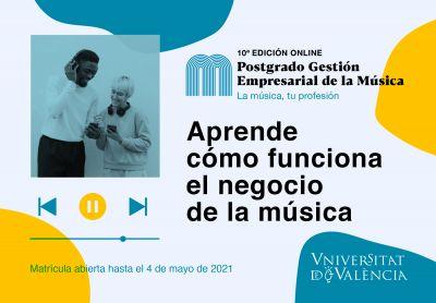 La Universidad de Valencia acoge un postgrado musical