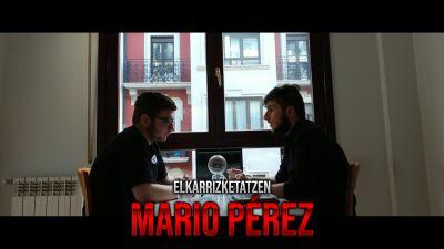 """Mario Pérez: """"Une horretatik futbolari beldurra hartu nion"""""""
