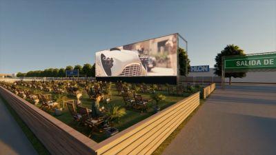 Alicante tendrá películas y conciertos en vivo gracias al autocine más grande de Europa