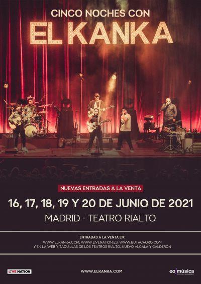5 noches del El Kanka en Madrid