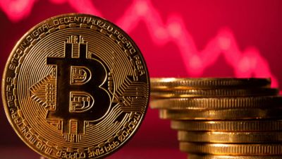 Bitcoin drops back below $30,000, heads toward new low for the year