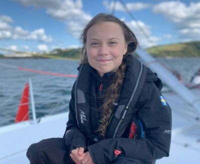 Greta Thunberg, the climate campaigner who doesn't like campaigning