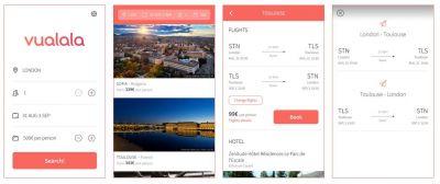 Vualala - Encuentra la combinación perfecta de vuelo + hotel en base a tu presupuesto