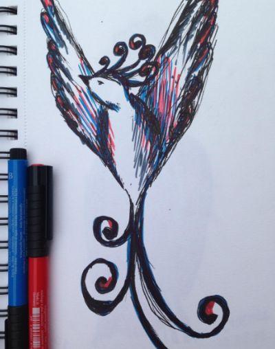 Thescary bird)