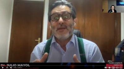 Doctores Mayol y Candel hablan del Covid-19 con el periodista Iker Jiménez