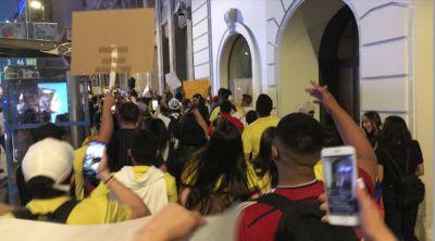 Madrid grita por Colombia.