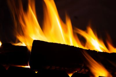 The fire V