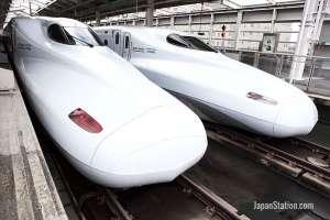 Shinkansen high-speed train network in Japan
