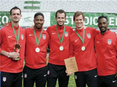 The story of US Men's Deaf Soccer Team overcoming obstacles and winning first place in the Pan American Games featured in