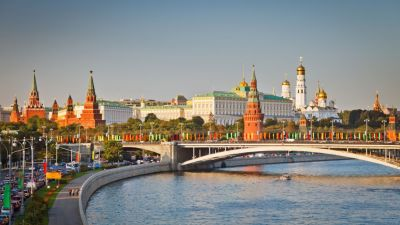 Beauty of Moscow river