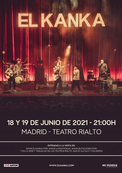 El Kanka en Madrid 2021
